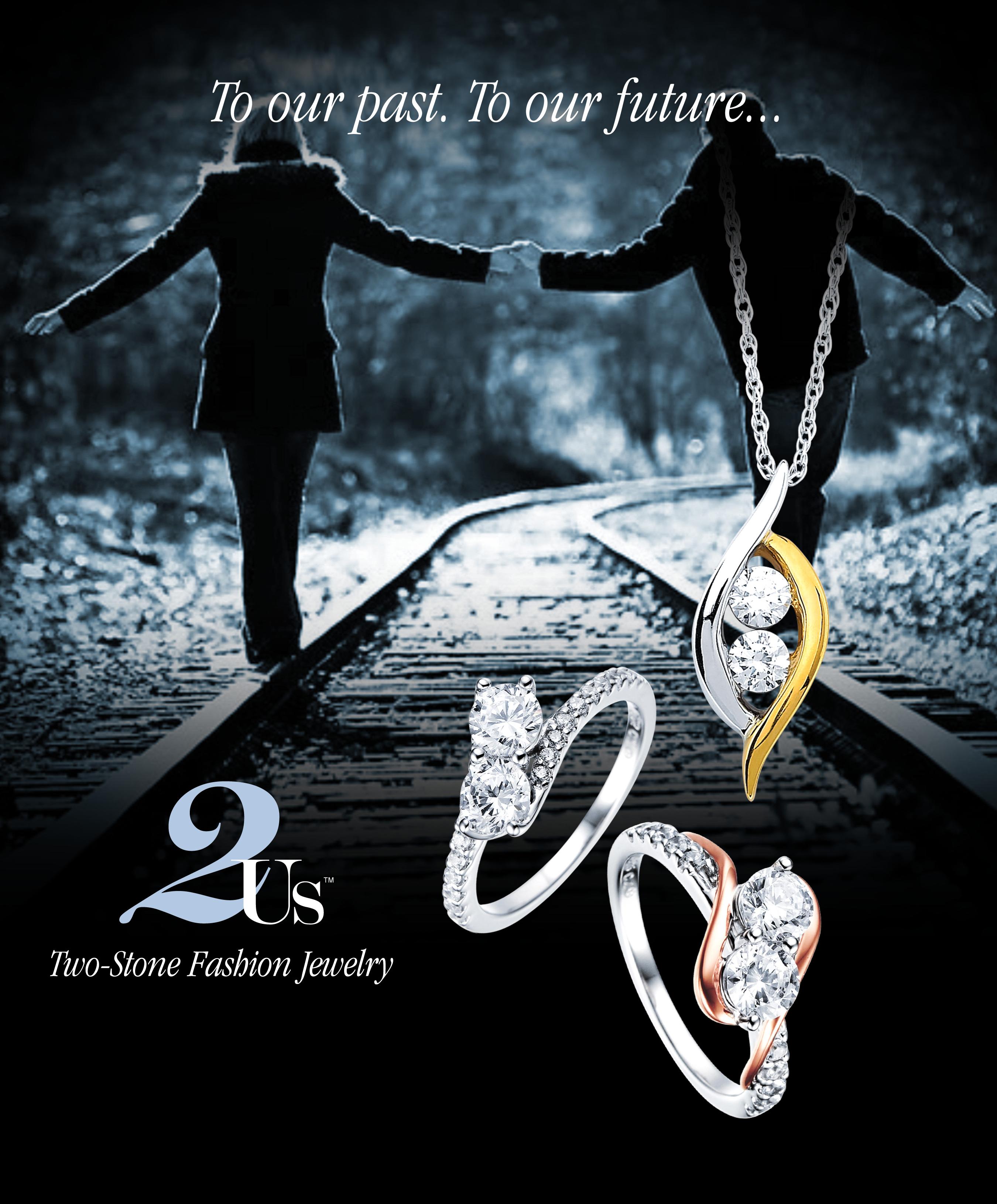 Two-Stone Fashion Jewelry