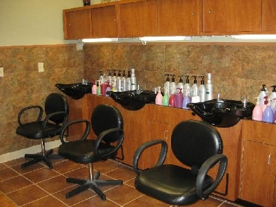 Salon Shampoo Area