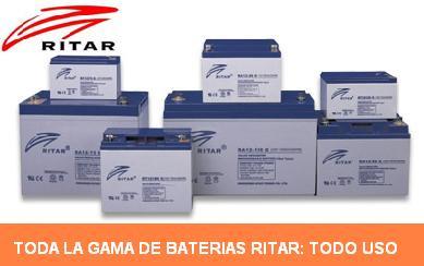 baterías Ritar