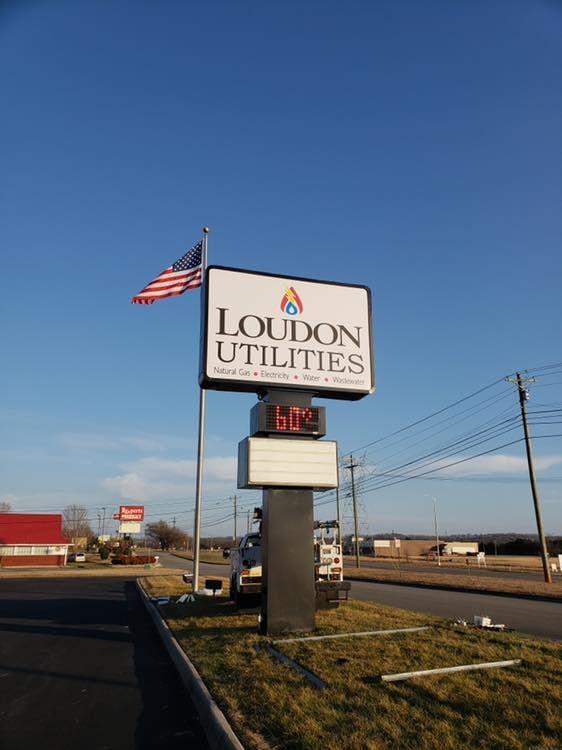 Loudon Utilities Signage