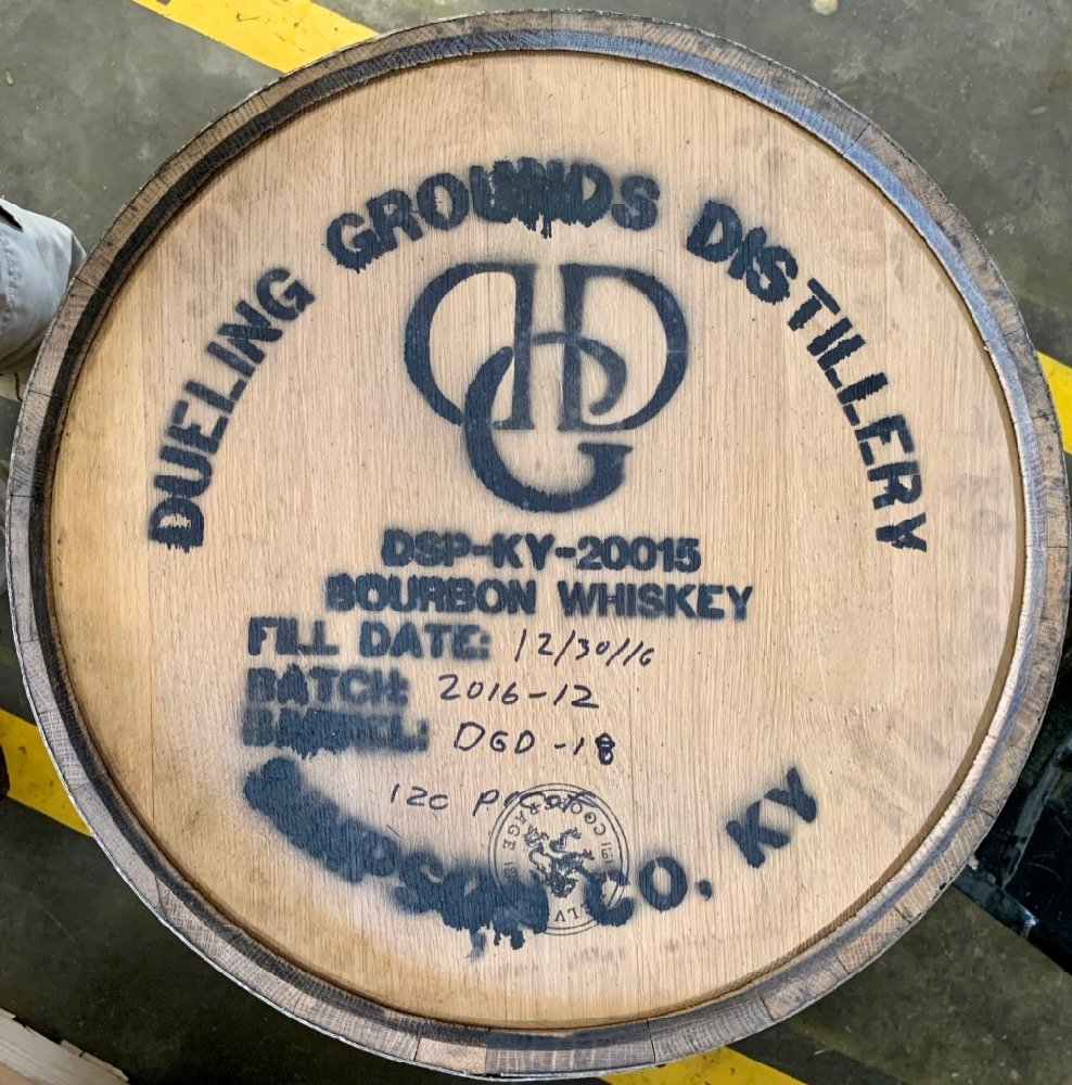 Barrel Head - Dueling Grounds Distillery