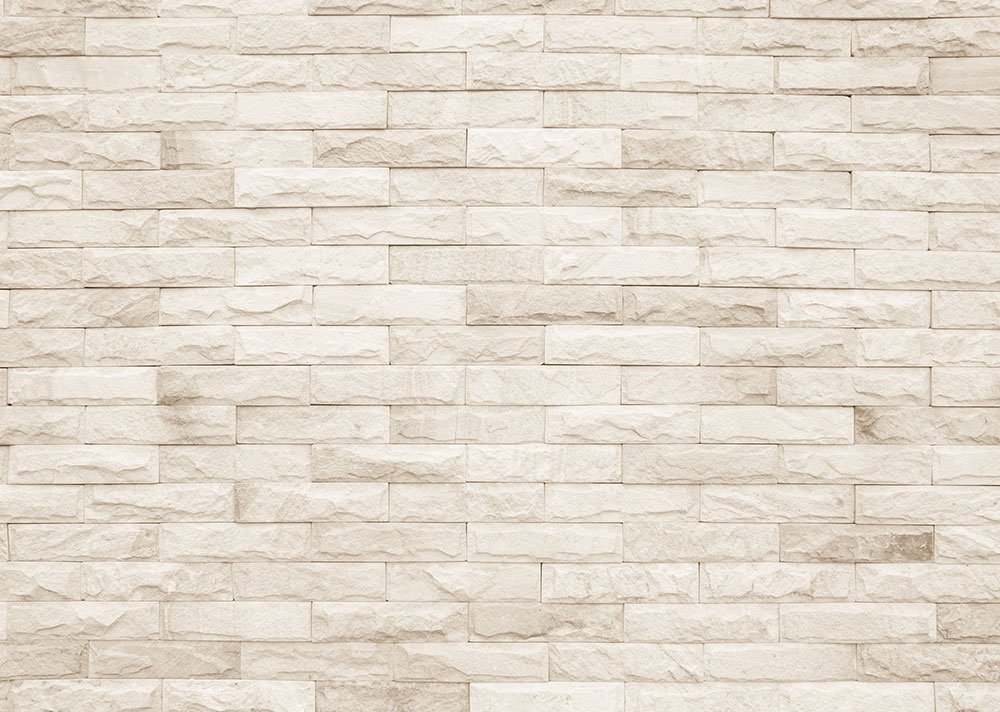 Cream And White Brick Wall Texture