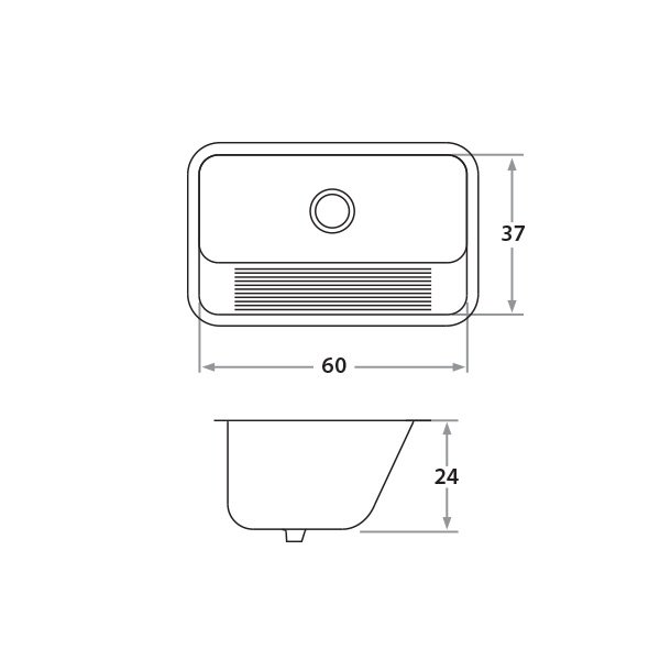 Croquis Modelo Lavadero 420L