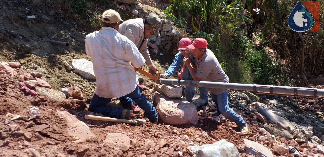 REPARACIÓN DE FUGA DE AGUA EN COLONIA SAN MIGUEL