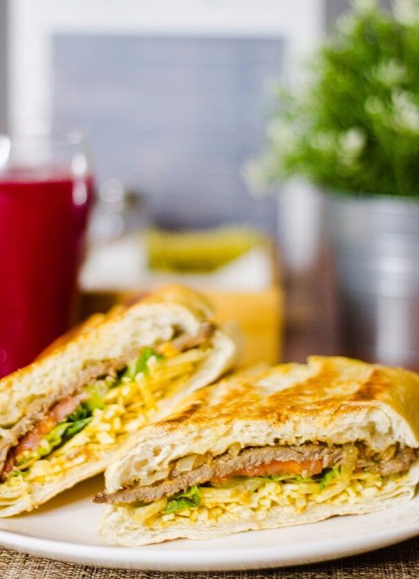 Plate of Scrumptious Sandwich
