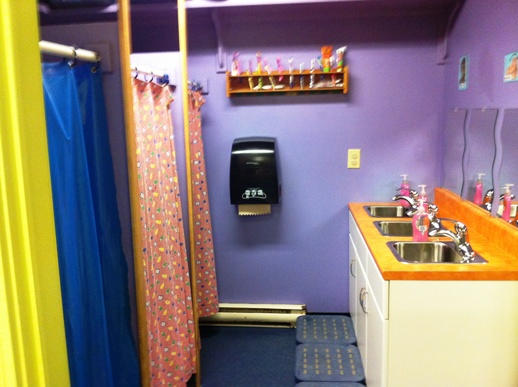 Washroom for 3 & 4 year olds
