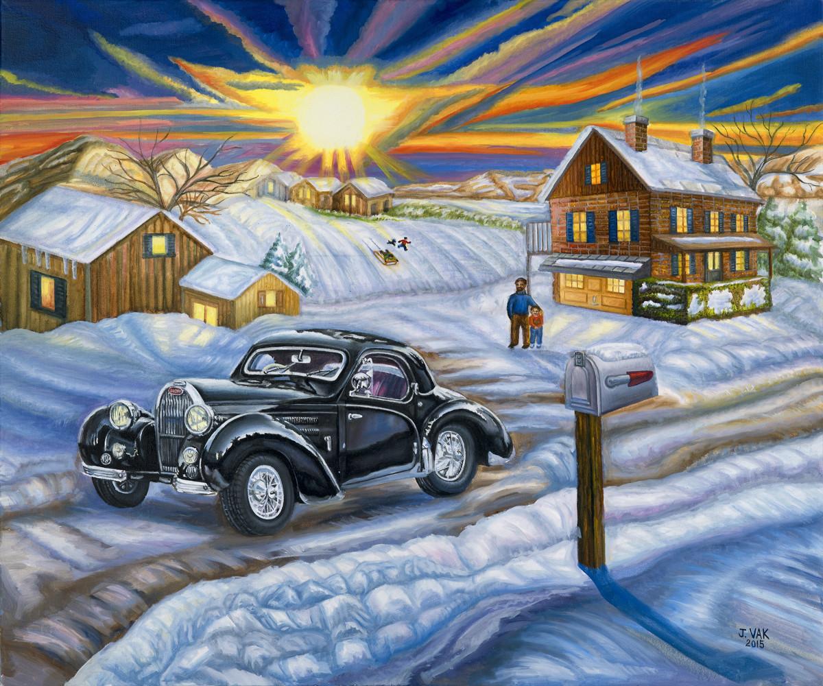 1939 Bugatti 30 X 36 Original Oil          $3850            2015