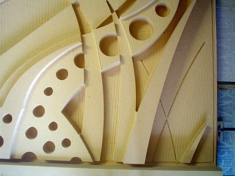 MDF Positives  for Concrete Molds