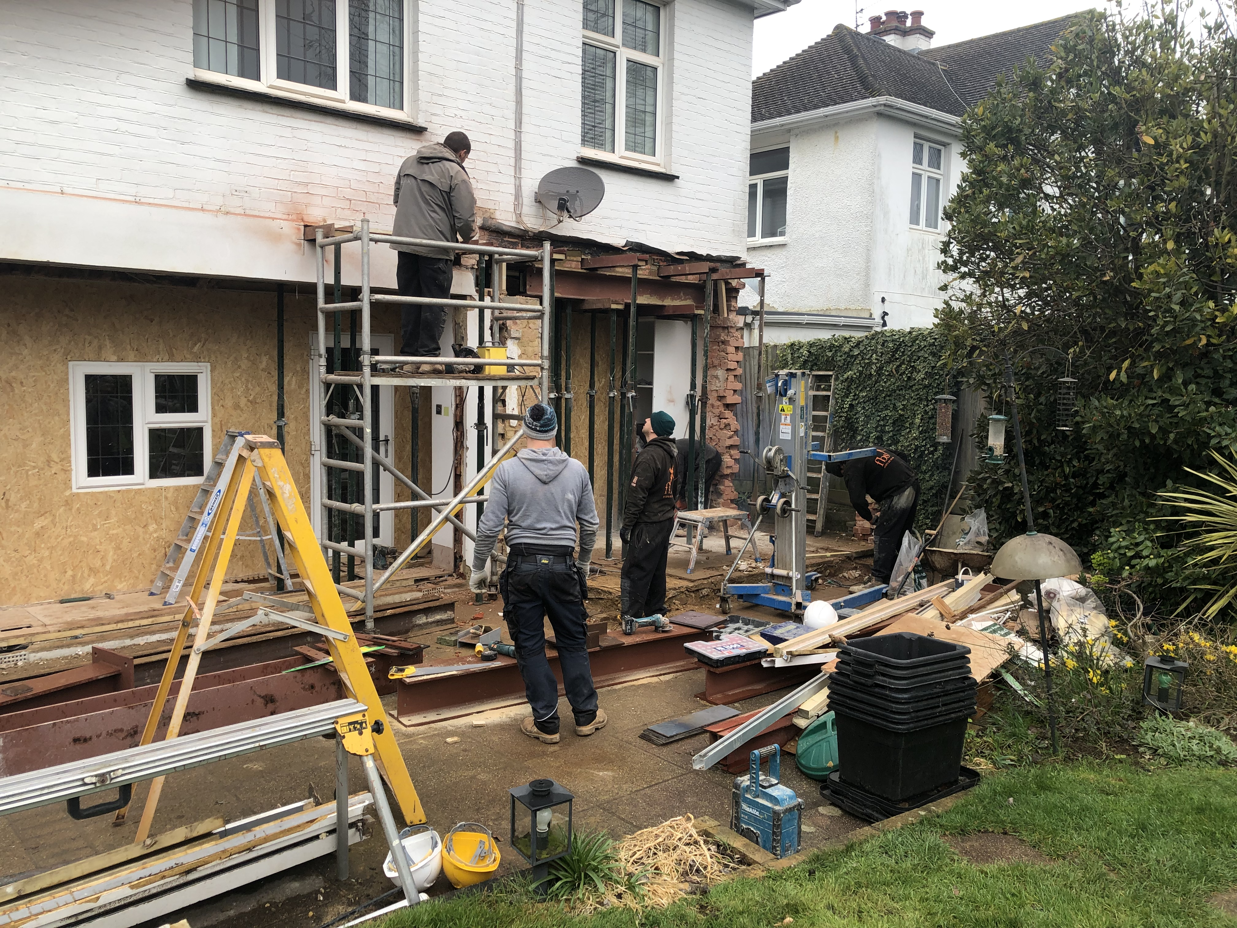 Hove extension & refurbishment