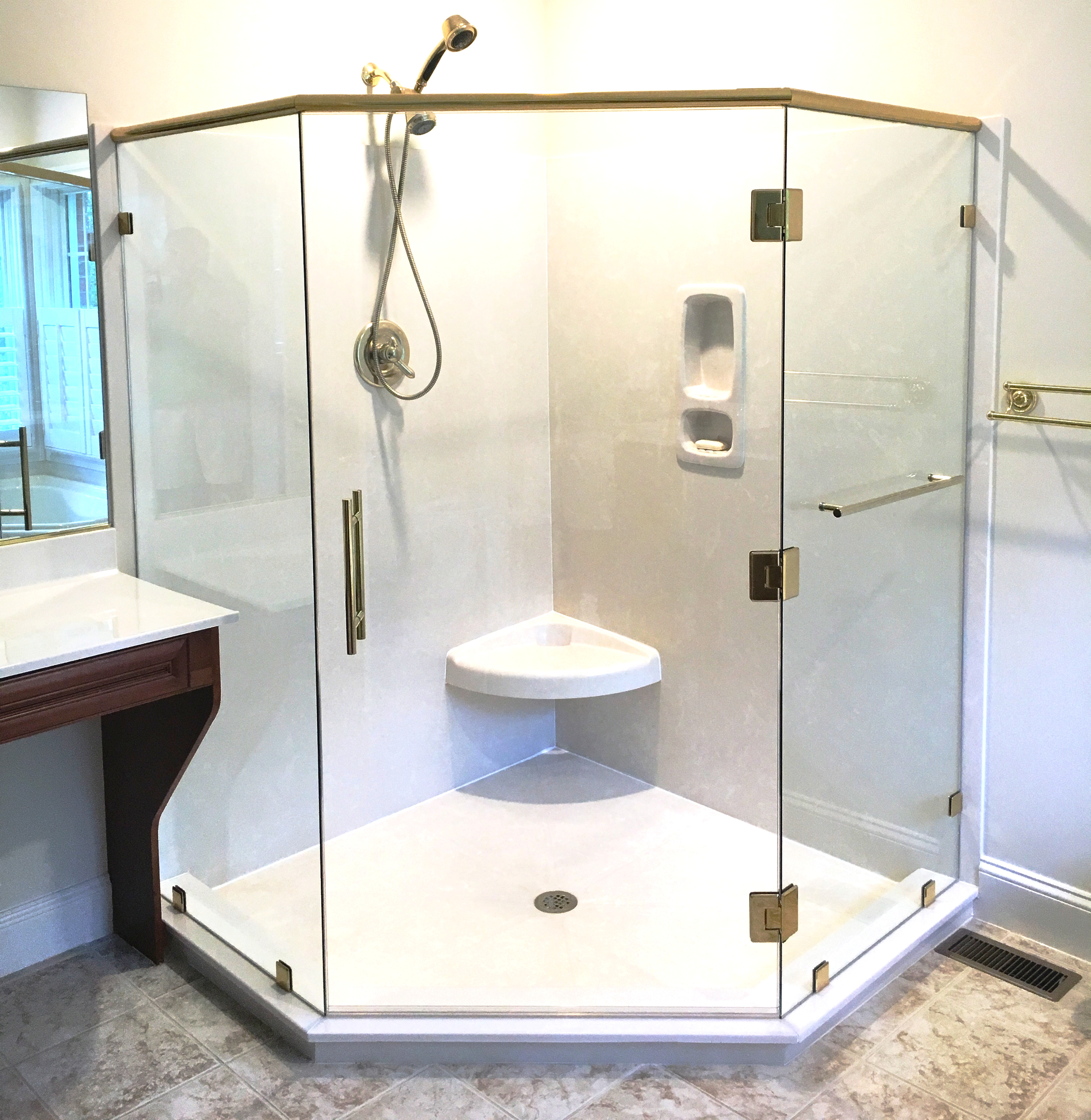 Elegant Shower Enclosure