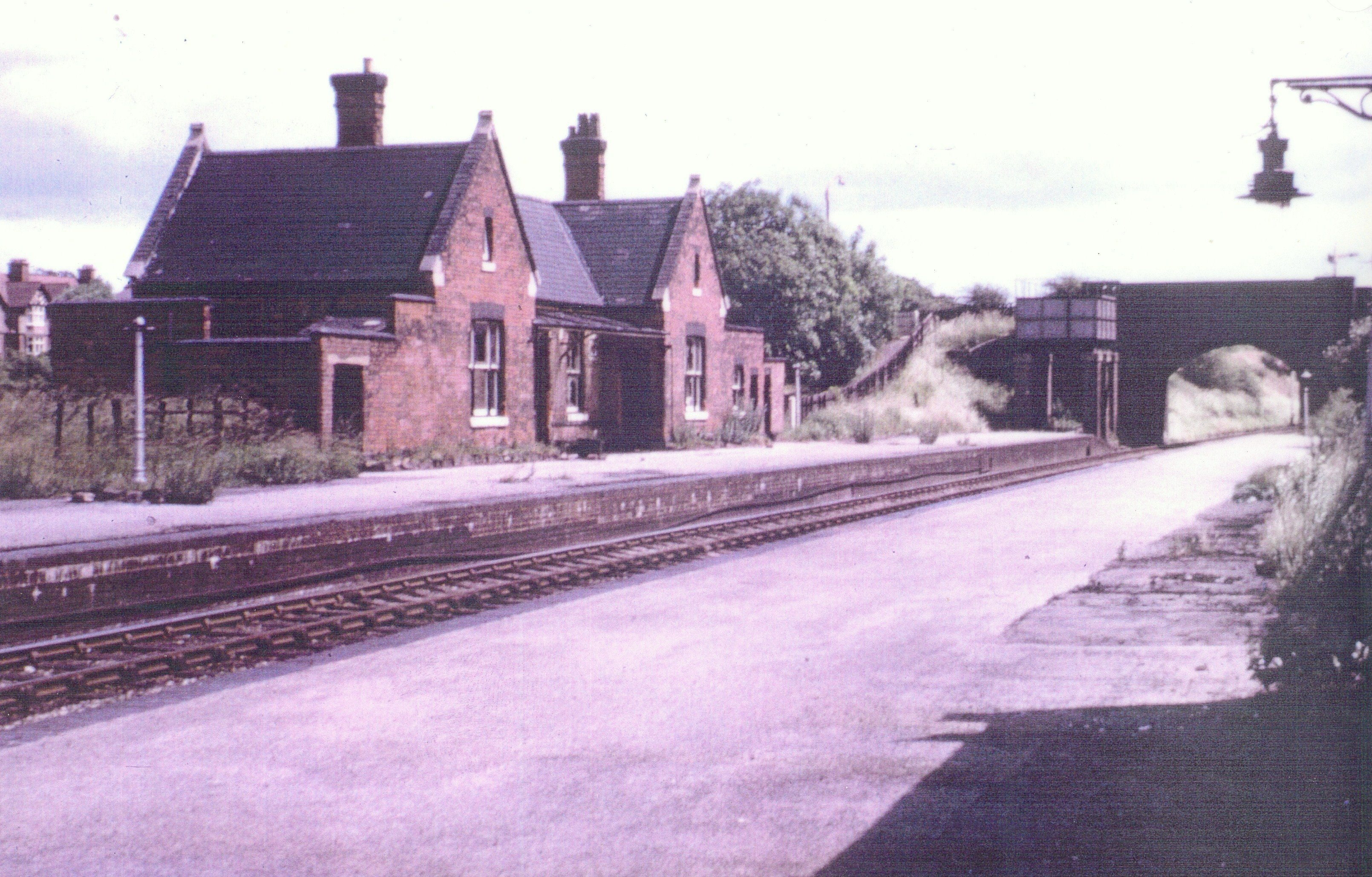 This view probably after the closure of the Station in January 1965