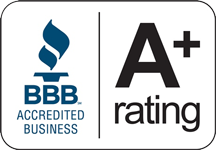 Accredited Member - Better Business Bureau - A+ Rating