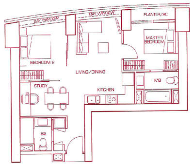Two Bedroom Suite Type A