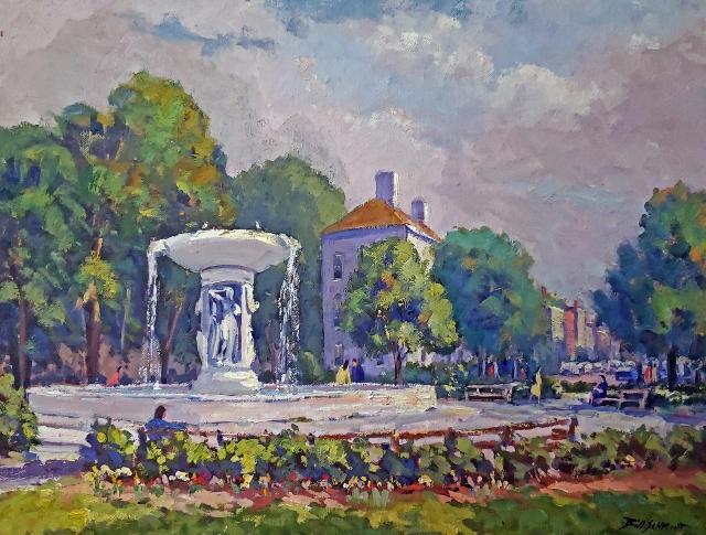 Schmidt, Dupont circle Fountain