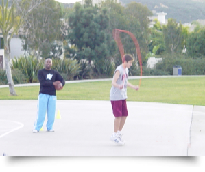 One on one basketball training||||