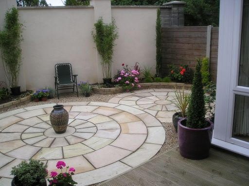 City Courtyard Garden in Stillorgan