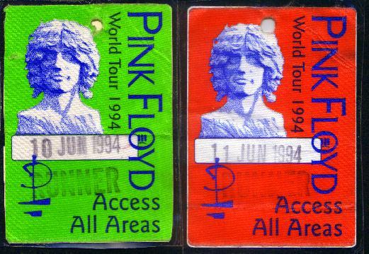 Pink Floyd 1994 Crew