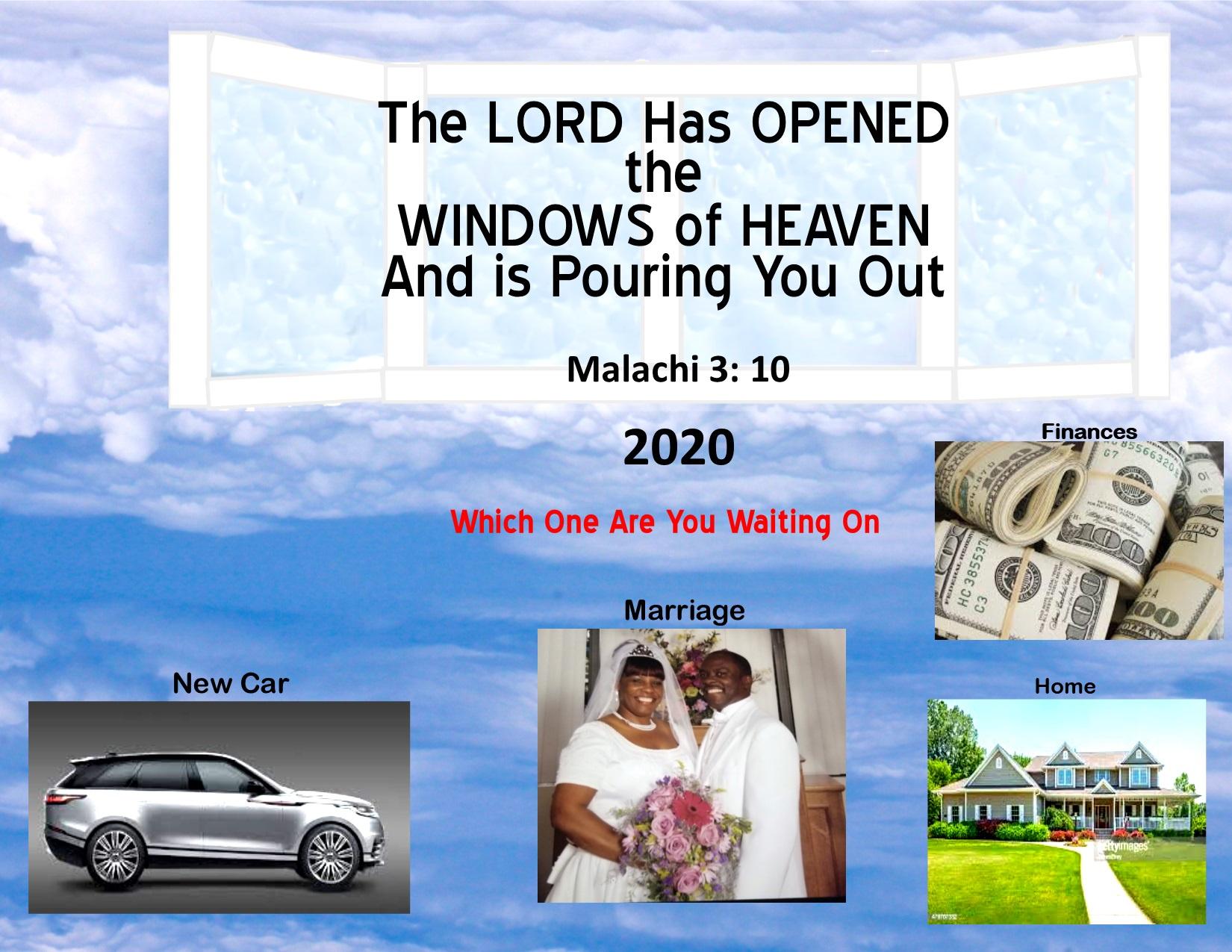 God Inspired 2020 Calendar