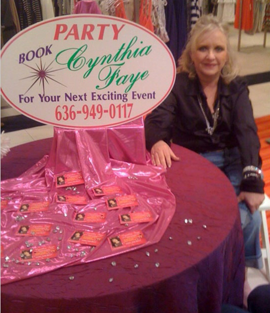 Cynthia Faye Book a Party Image