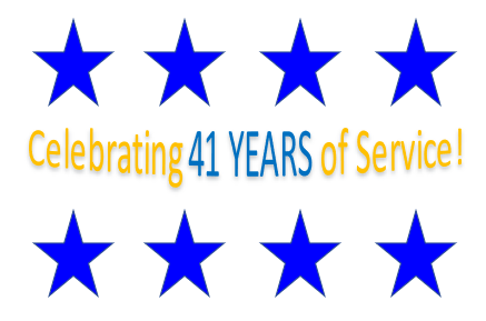 41 Years of Service!
