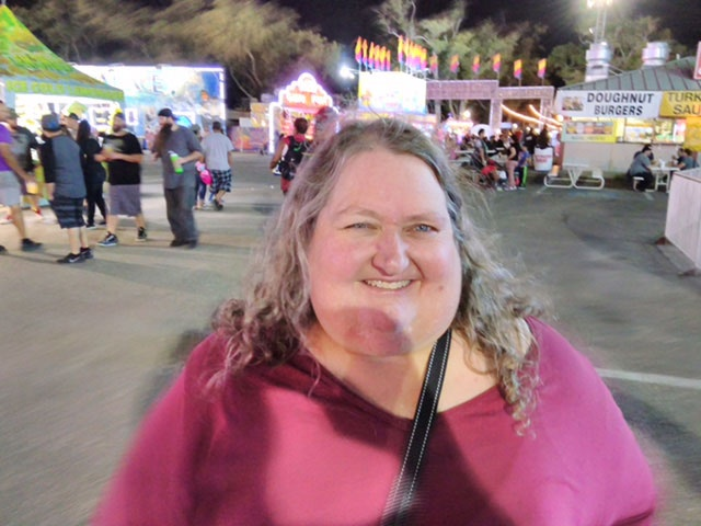 Peg at State Fair