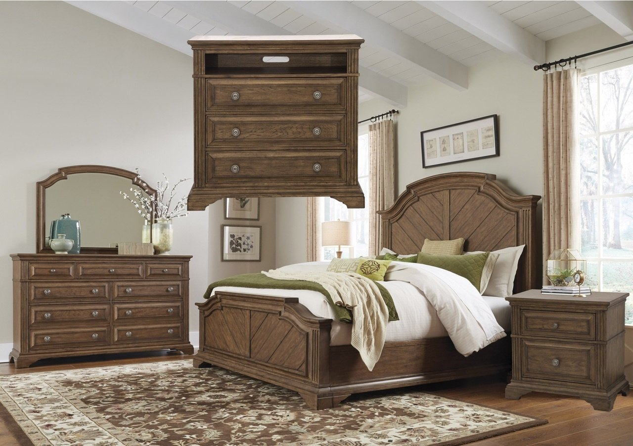 P103BR Jackson Lake Bedroom Set