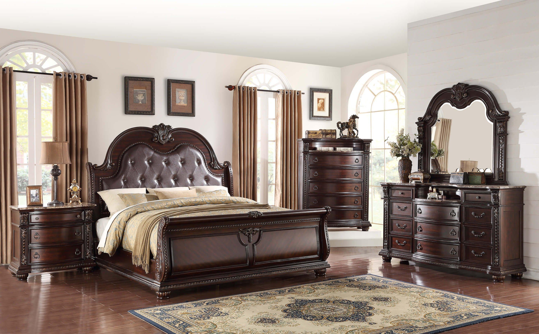 Stanley C/M B1600. Bedroom Suite