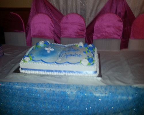 Book Baptism Cake
