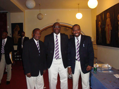 Mohammed Kamara, Rowland Awoonor Gordon & Ivor Nelson Williams