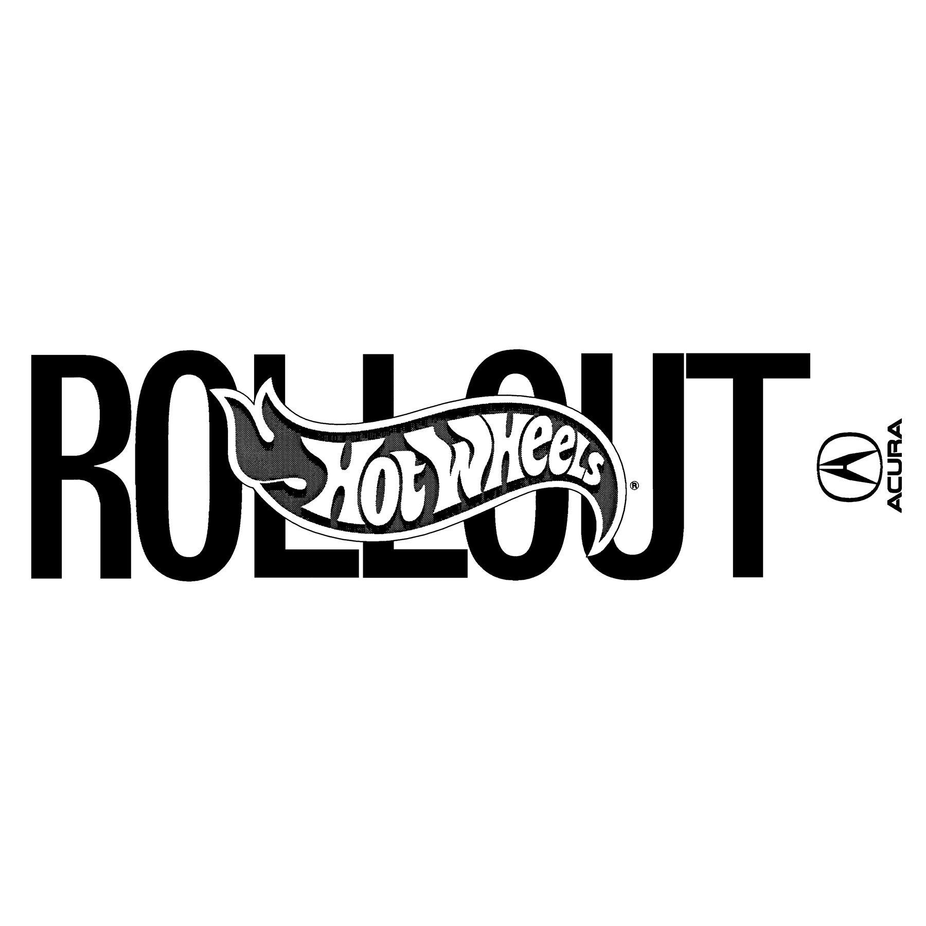 Hot Wheels Rollout Acura Logo