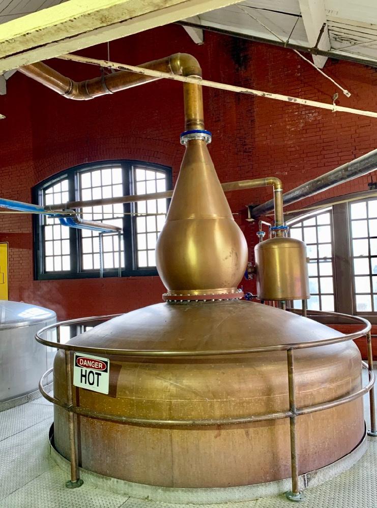Four Roses Distillery Pot Still
