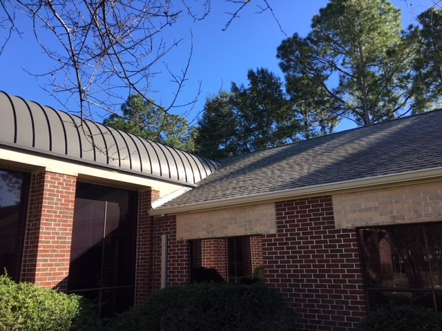 Newly Installed Roofing