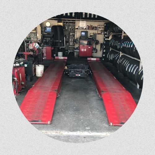 Car Alignment Machine