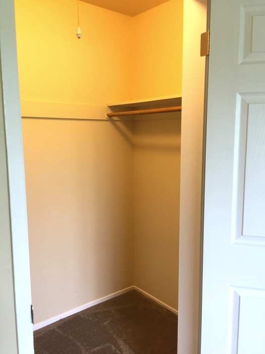 Right side of walk-in closet