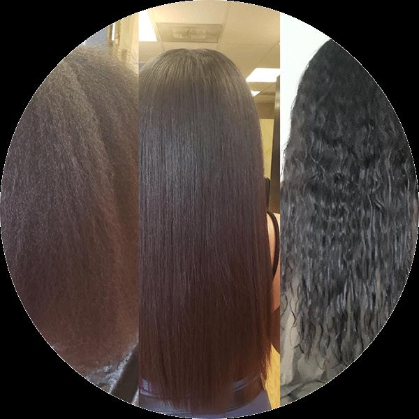 Wavy Black Hair