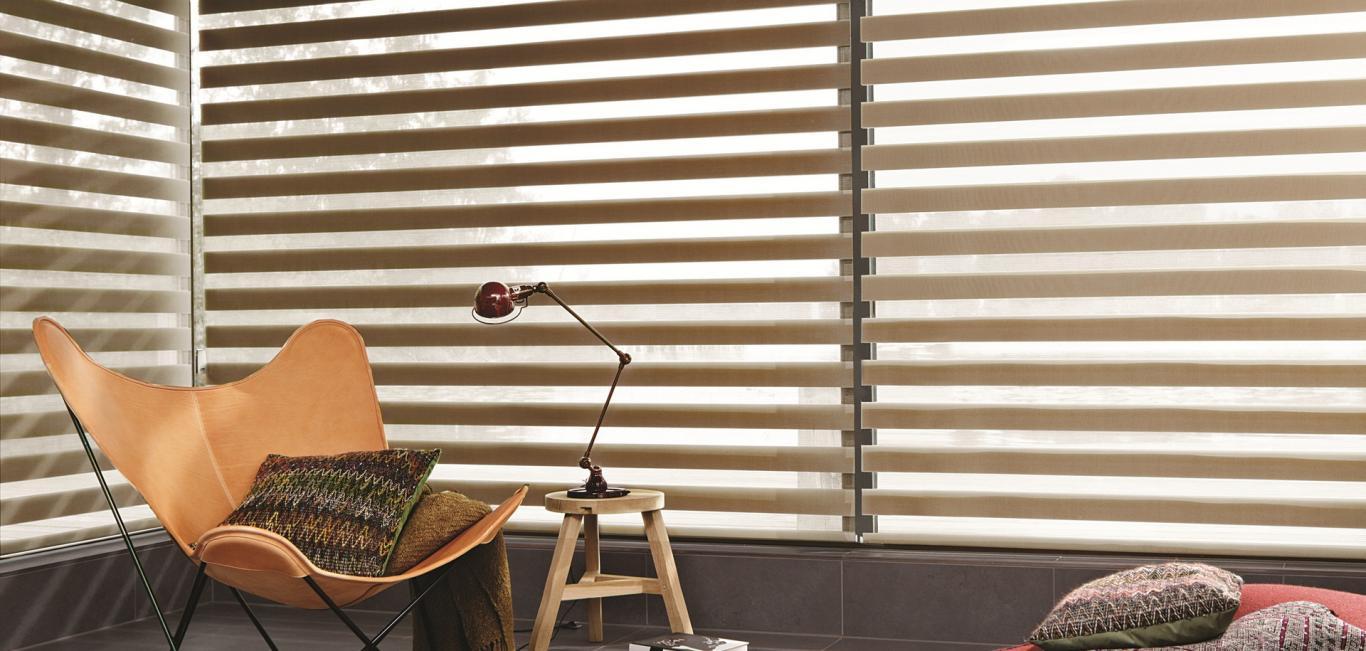 El mecanismo en las cortinas Sheer Elegance puede ser Manual o Motorizado