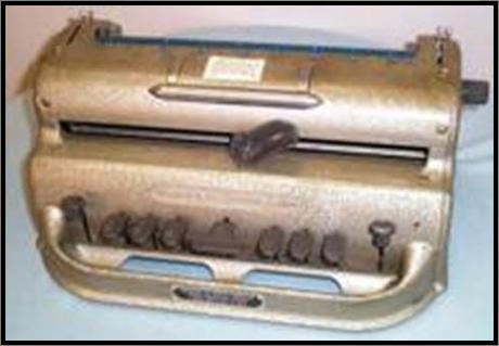 Manual Braille Writer||||