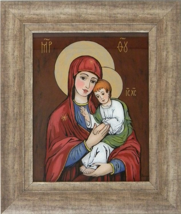 """Maria with Child"" by Nataliya Guchenia  Size - 11""H X 8 1/2""W $300.00"