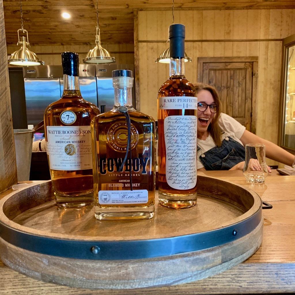 Whiskey Tasting Line Up - Preservation Distillery