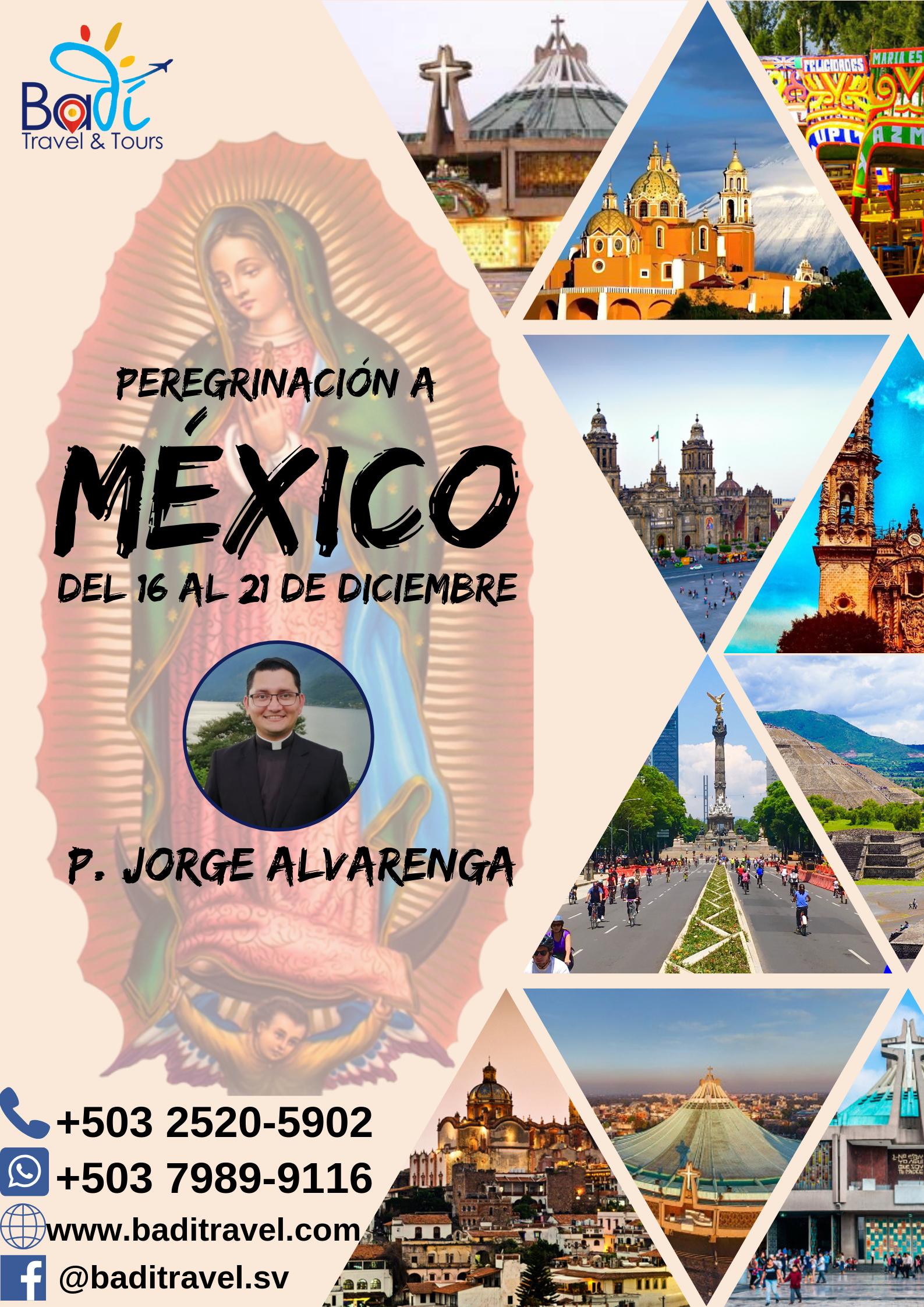 Peregrinación México Diciembre