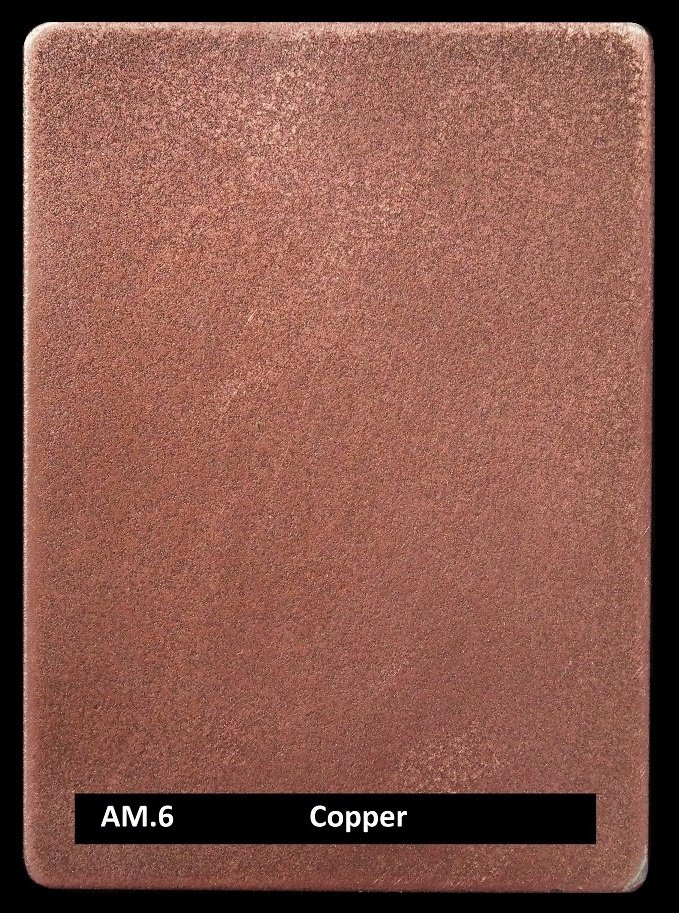 Copper Finish - metal coating AM.6 Artistic Metals