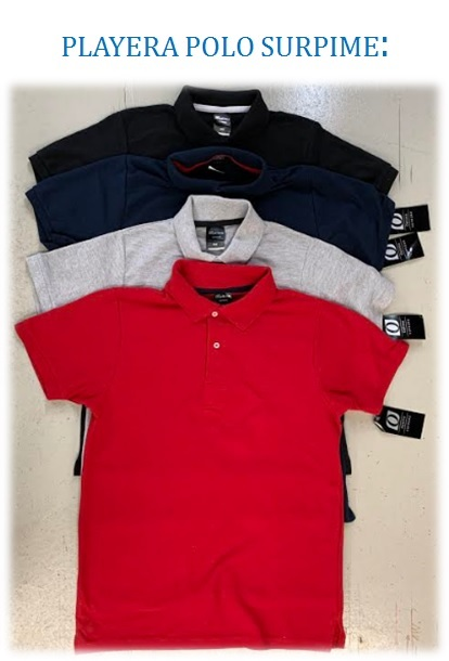 PLAYERA POLO SUPRIME