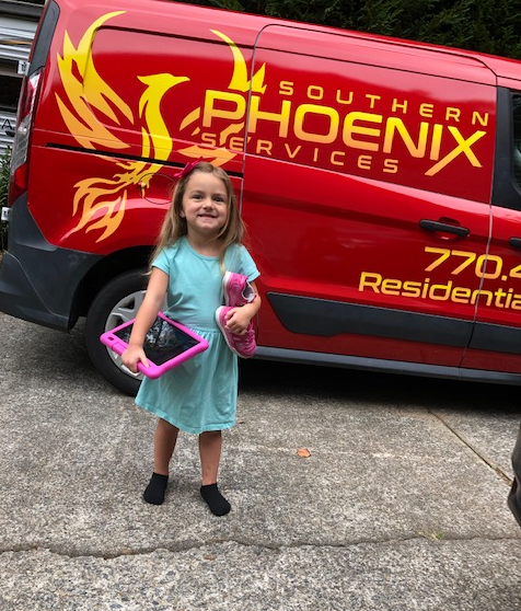 Southern Phoenix Services - Cute Little Supporter