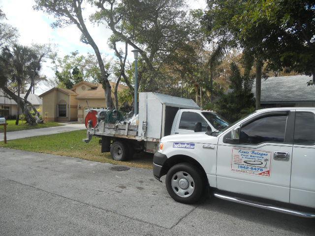 Pool Company Truck 2