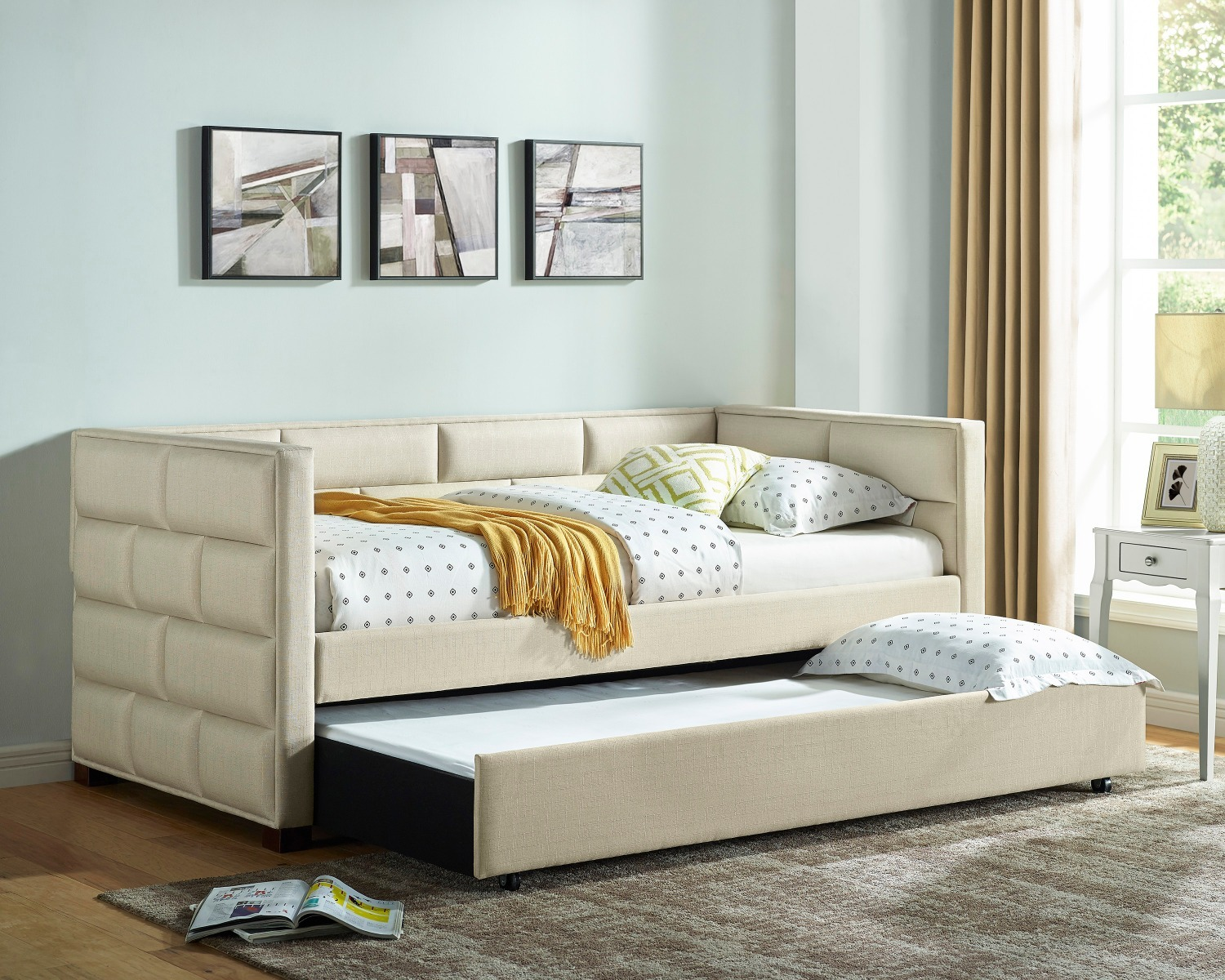 Flannery Ivory Day Bed 5337IV