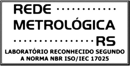 Certificado Rede Metrológica RS