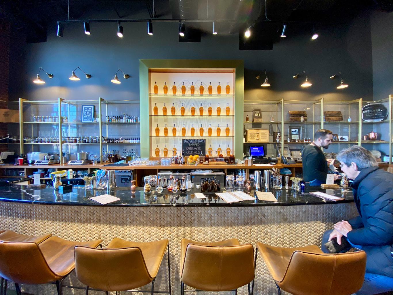 The Finishing Room Bar - Angel's Envy Distillery