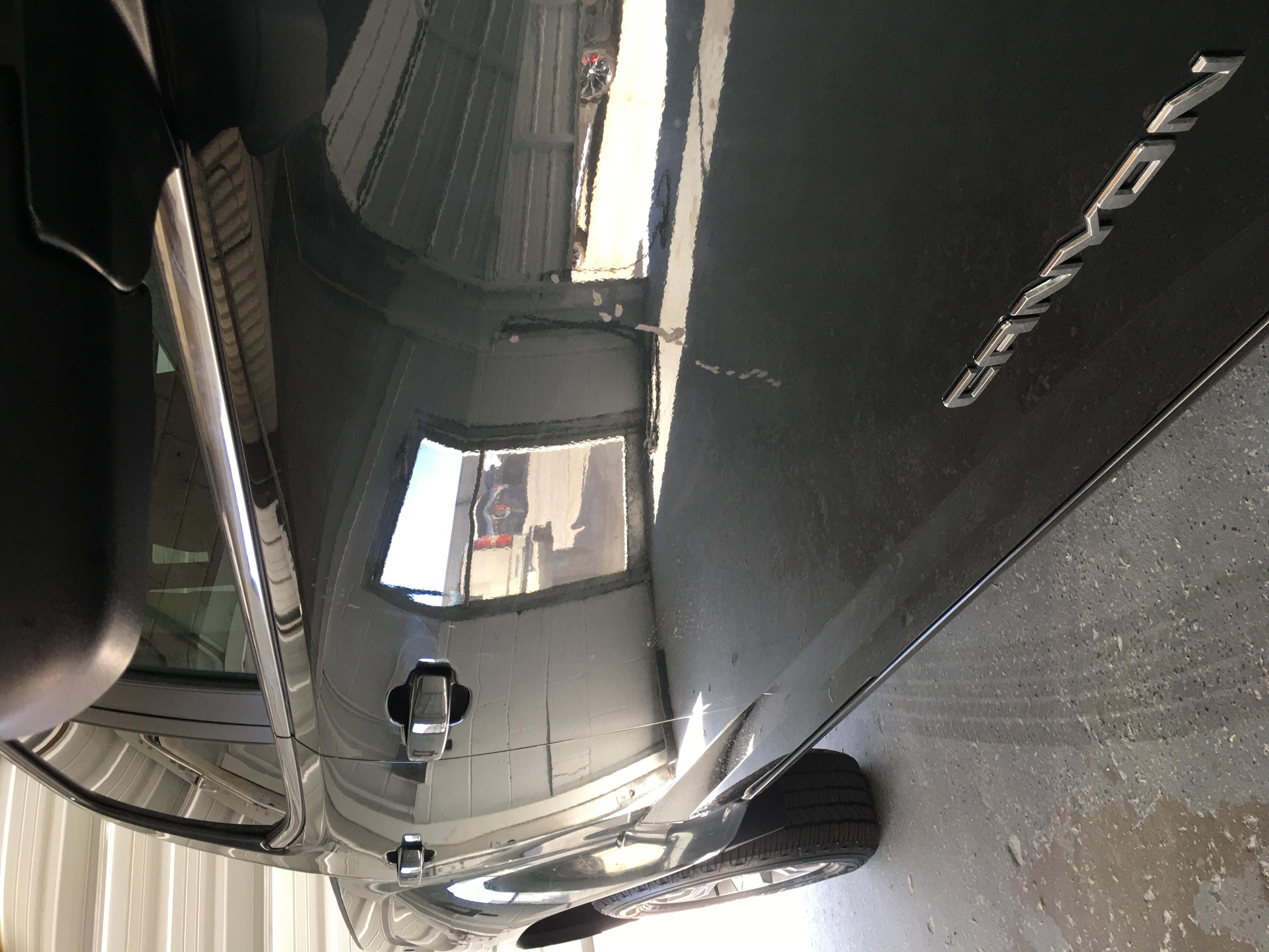 Black Pickup for Repair