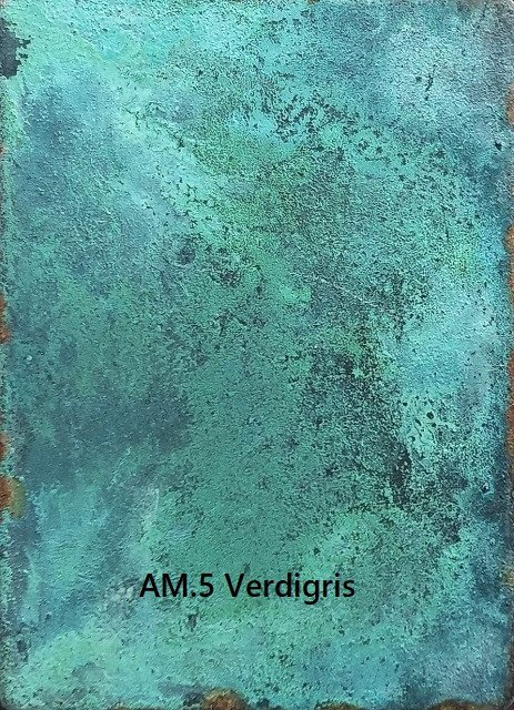 Patination Verdigris AM.5 Artistic Metals