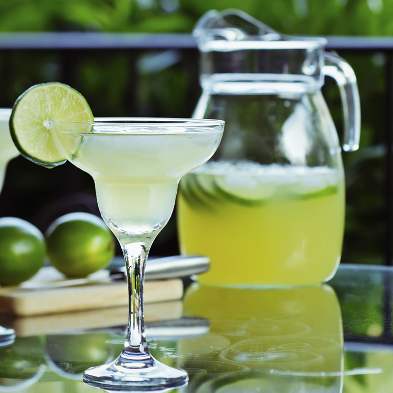 Delicious refreshing margaritas